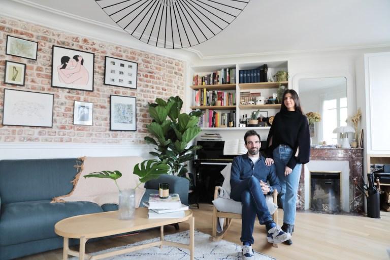 Le petit appartement optimisé de Marina de Harpe et Pierre-Alexandre de Projection Immobilière // Hellø Blogzine blog deco & lifestyle www.hello-hello.fr