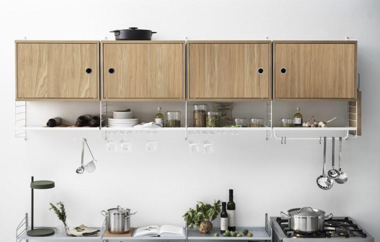 Etagère String Furniture pour la cuisine // Hellø Blogzine blog deco & lifestyle www.hello-hello.fr