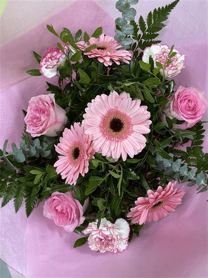 A Girly Bouquet Flowers