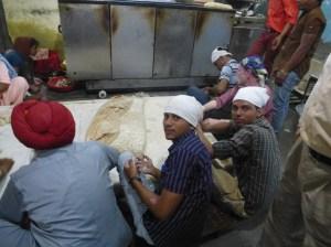 Delhi - 2013.10 - Gurudwara Sis Ganj (temple Sikh) (39)