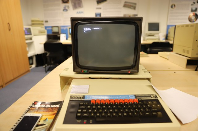 basic-print Computing History Museum vintage computing
