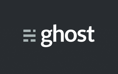 ghost plateforme blog