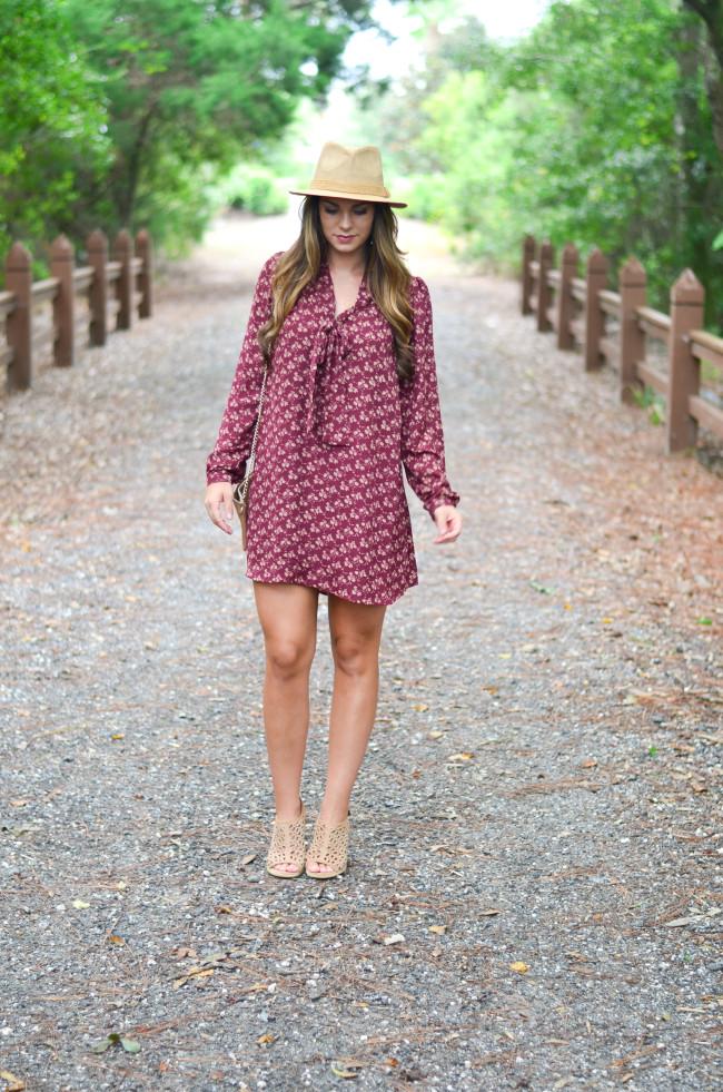 Maroon_dress-3