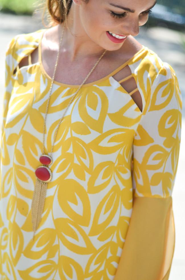 yellow game day dress-10