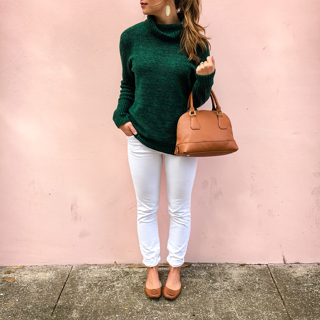 Green sweater instagram-1