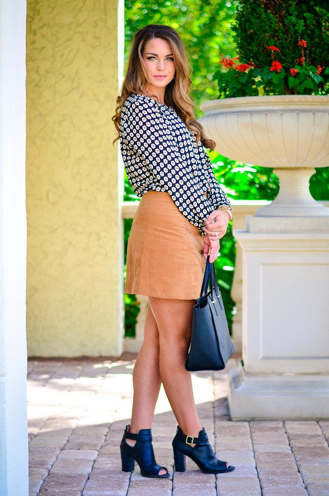 target suede skirt-8