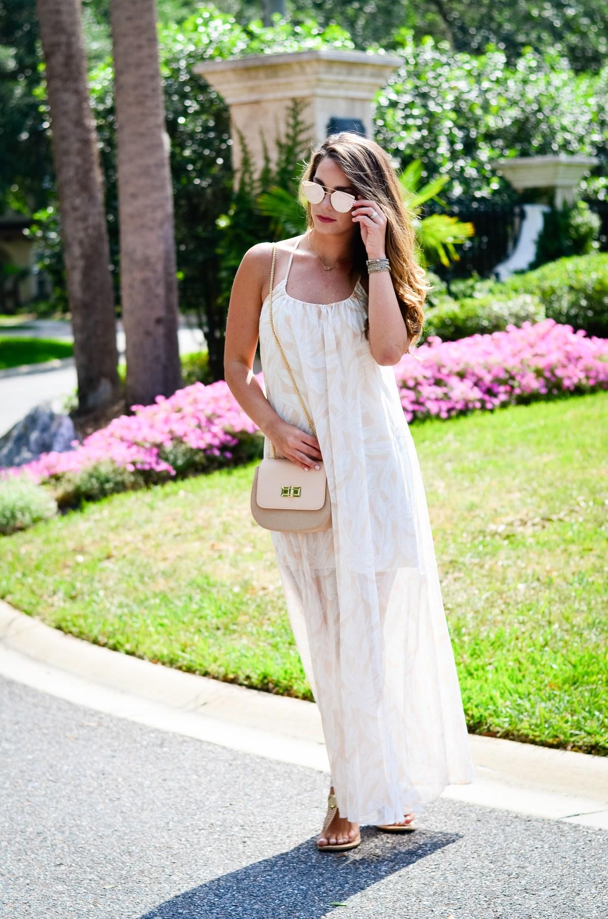 Dallas Print Maxi Dress-28