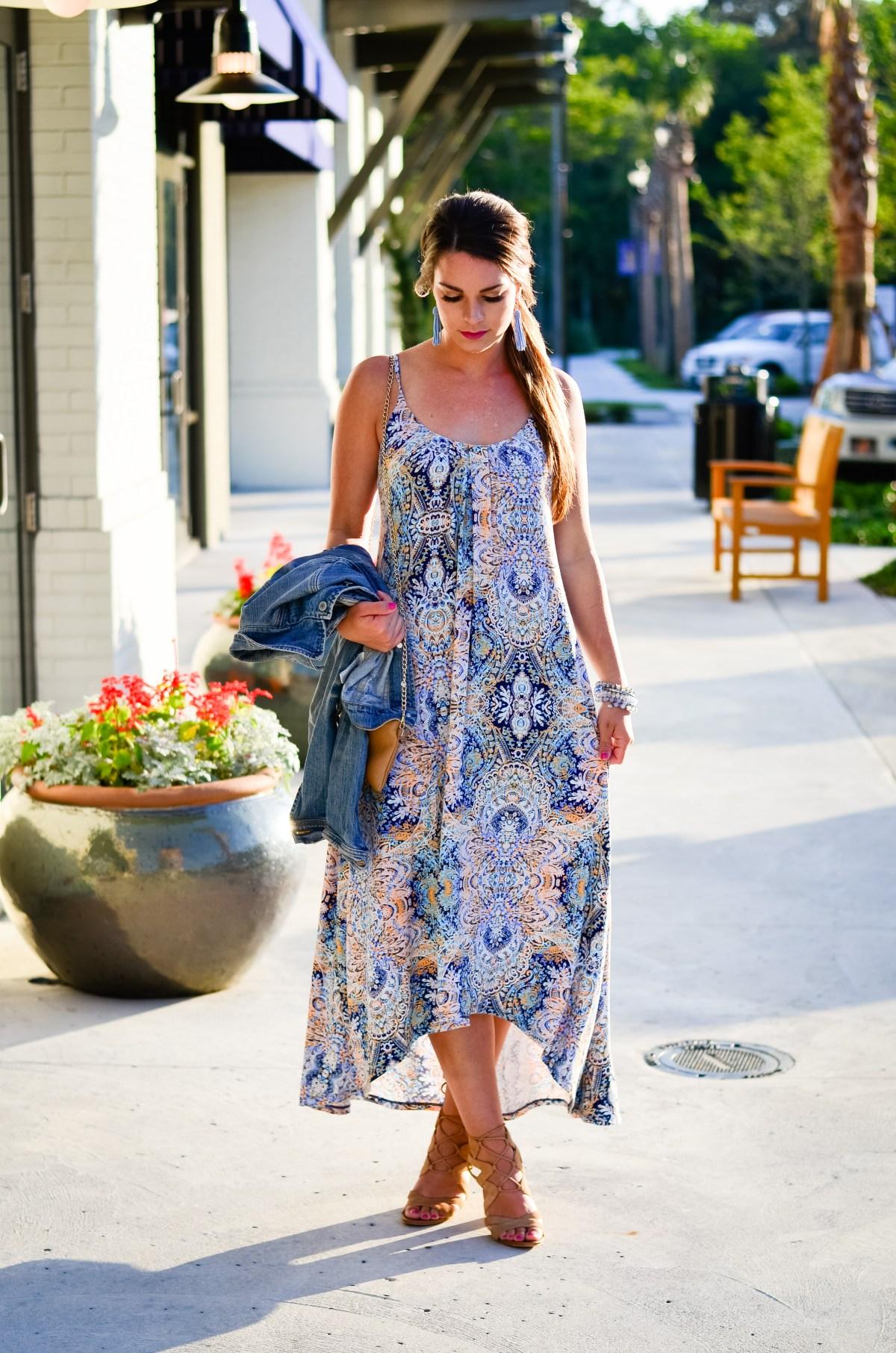Paisley Maxi Dress-14