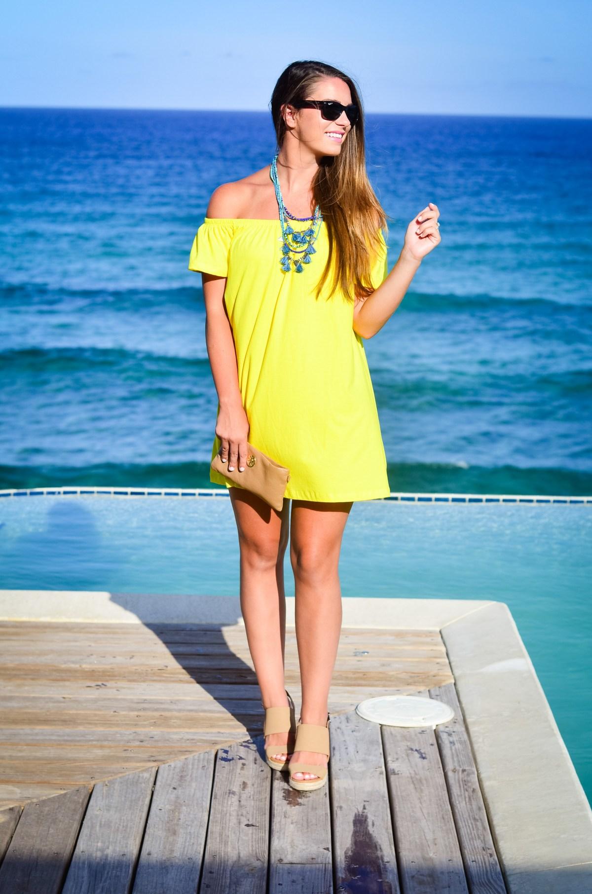 Yellow Asos Dress-3