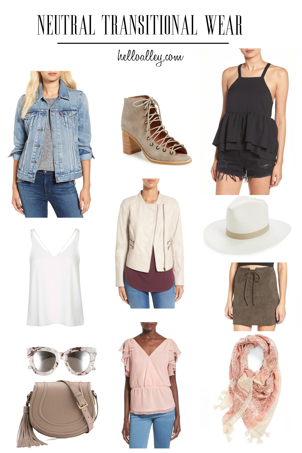 Neutral Transitional wear