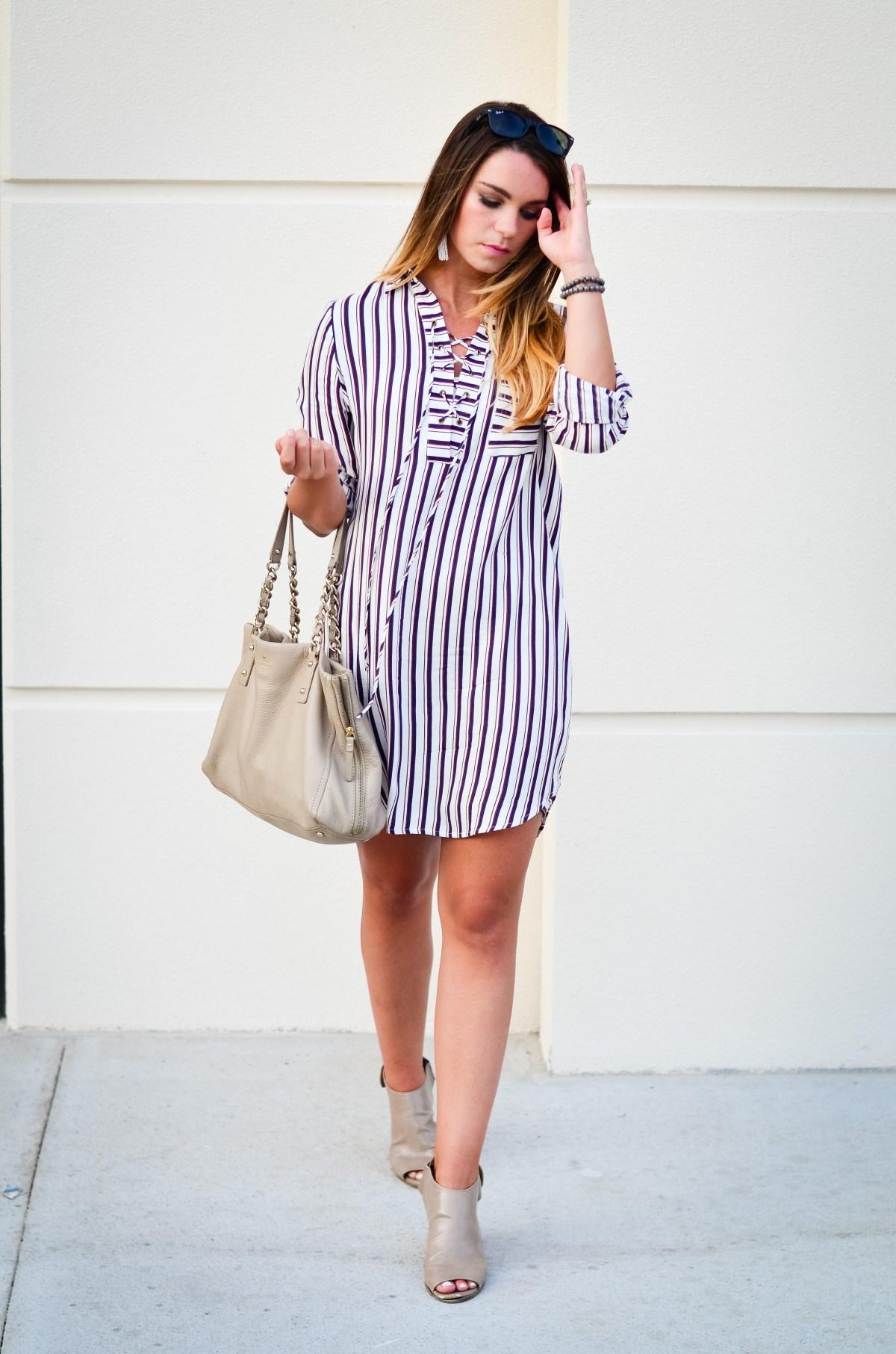 wayf shirt dress -3
