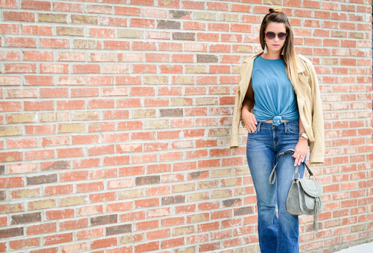 flare jeans blue tank -20