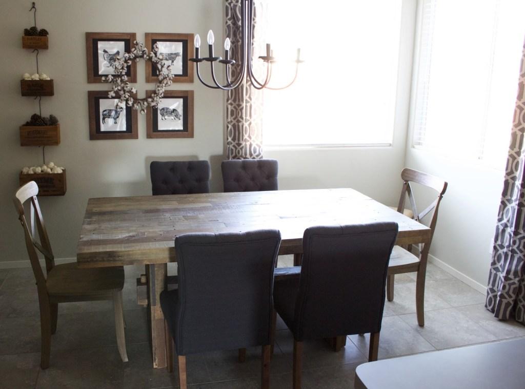 modern farmhouse dining