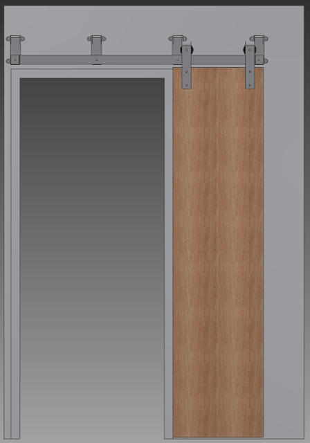 bypass barn door