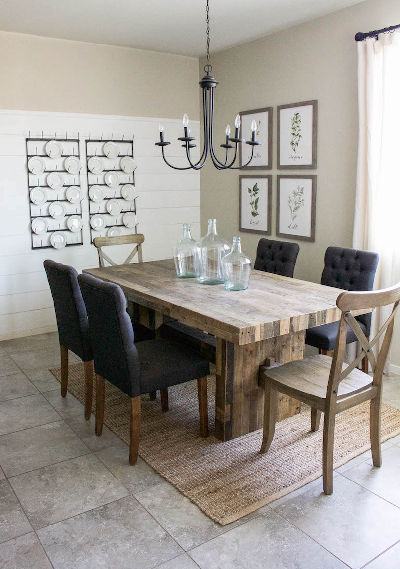 Farmhouse Dining Room Reveal