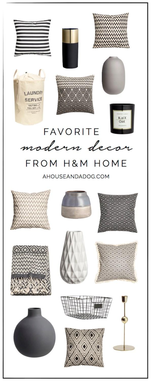 Modern Decor from H&M Home   helloallisonblog.com