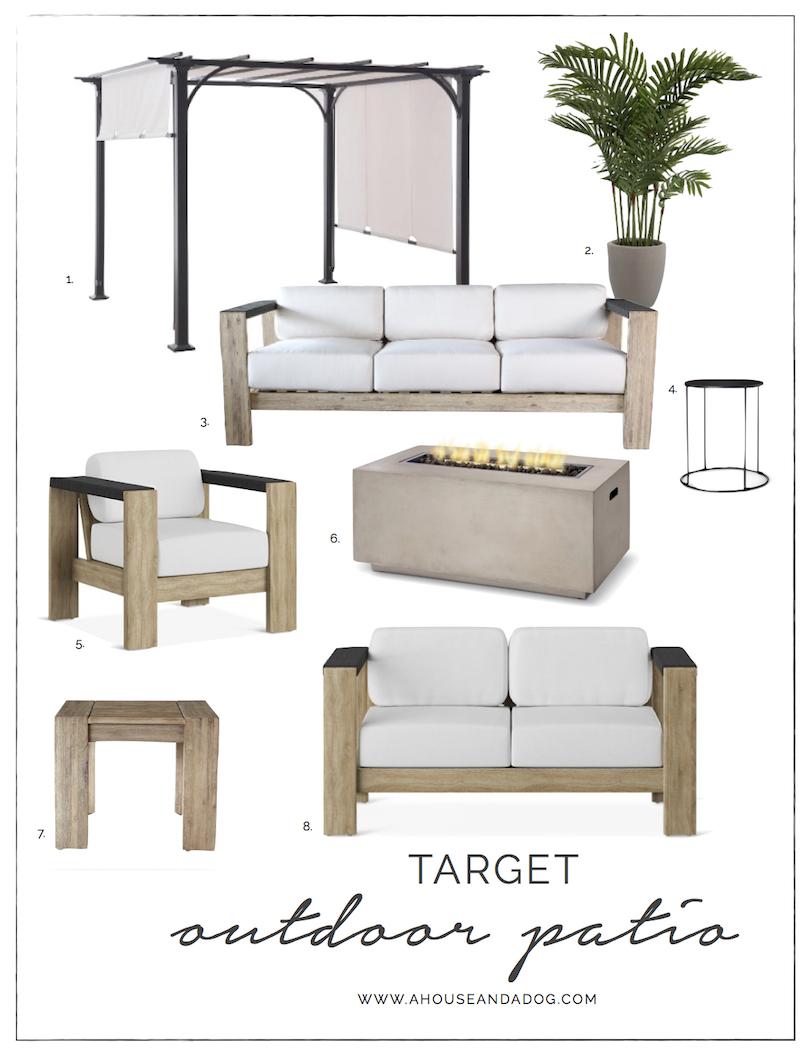 Modern Outdoor Furniture at Target | helloallisonblog.com