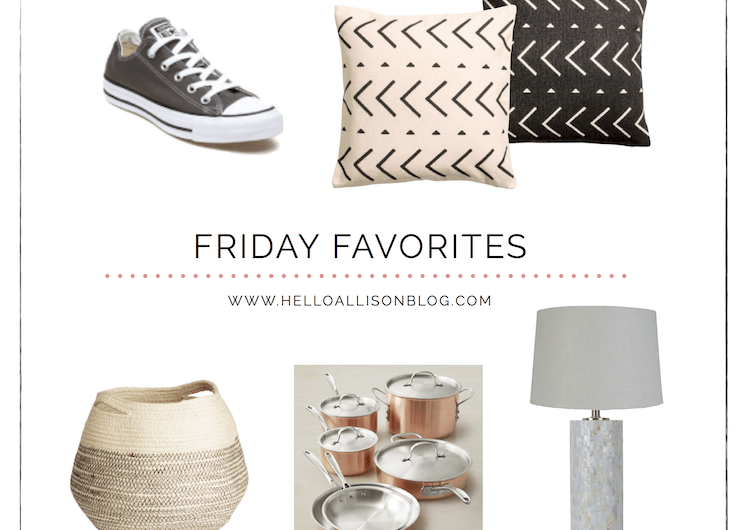 Friday Favorites 012 | helloallisonblog.com