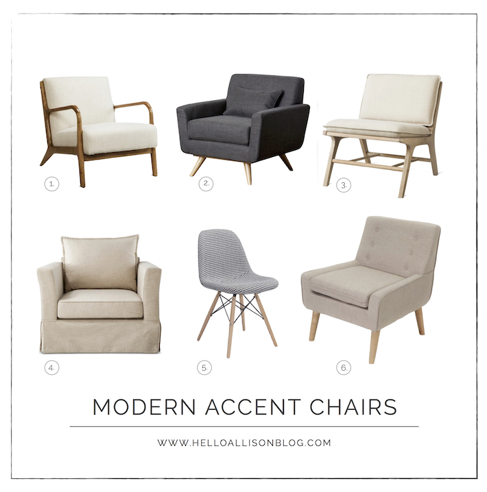 Modern Accent Chairs - affordable from Target | helloallisonblog.com  sc 1 st  Hello Allison & Modern Accent Chairs - Hello Allison