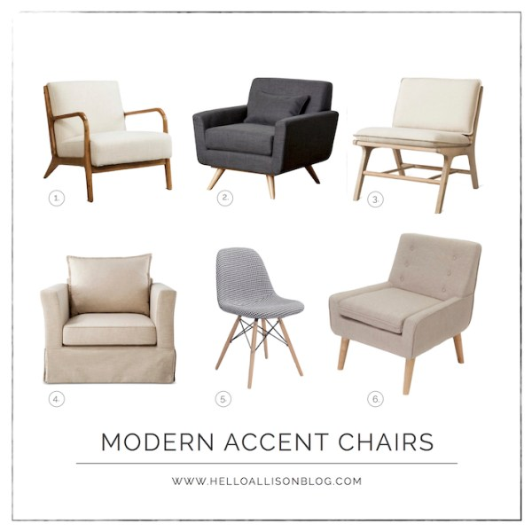 Modern Accent Chairs - affordable from Target | helloallisonblog.com