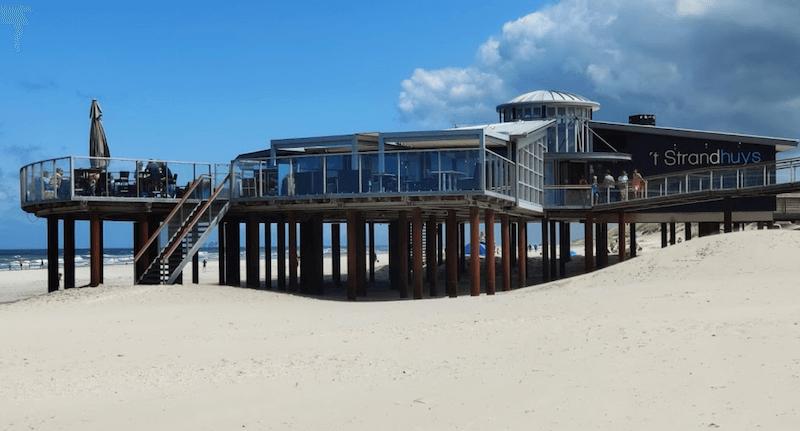Strandpaviljoen 't Strandhuys Buren Ameland