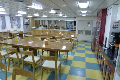 One of the cafeterias (sits up to 48 people)