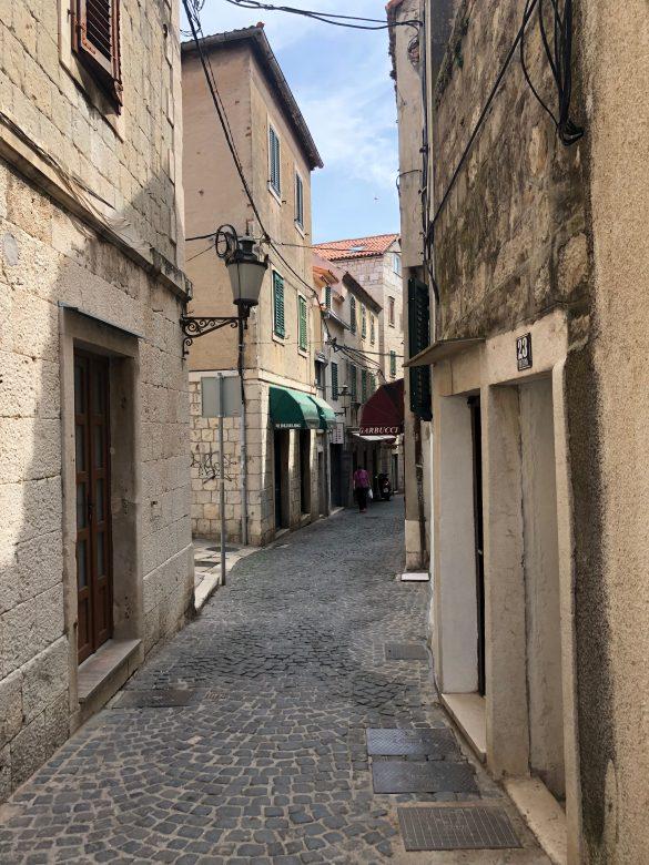 Les rues de SPlit