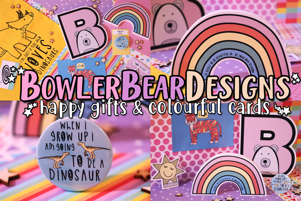 BowlerBearDesigns – Happy Gifts & Colourful Cards