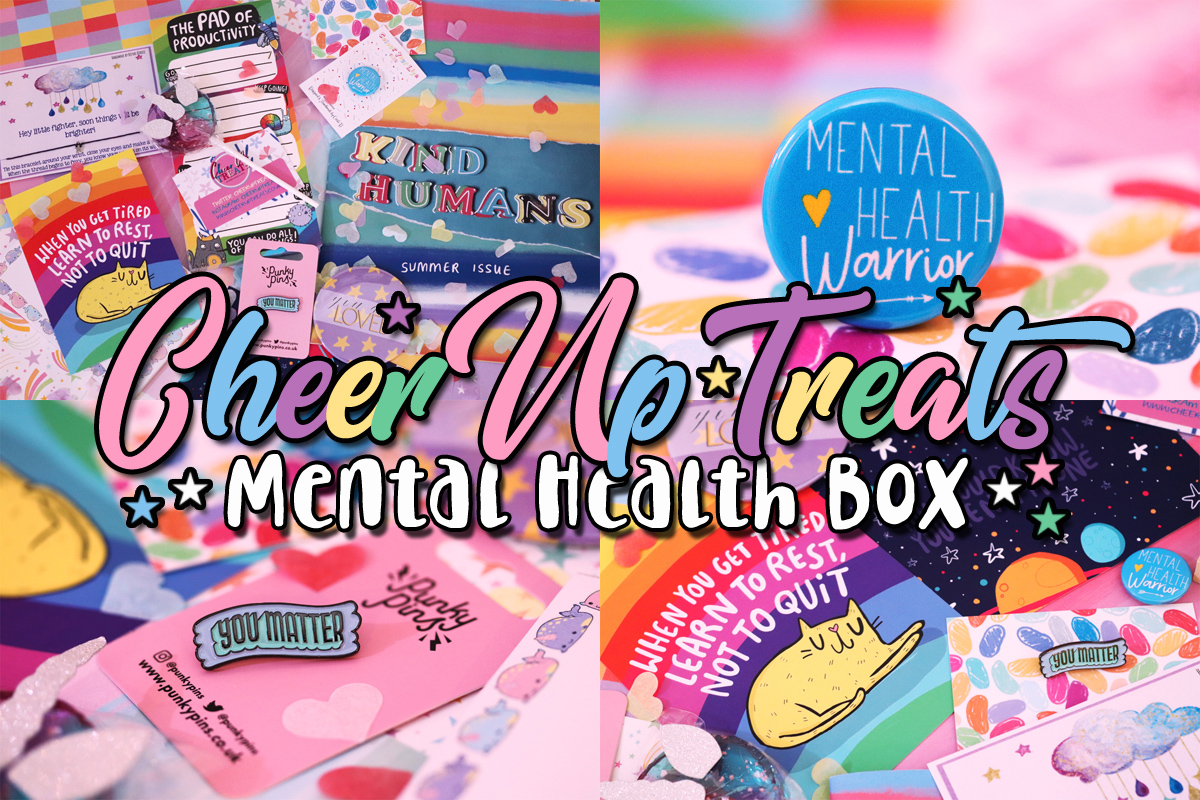 Cheer Up Treats Mental Health Box