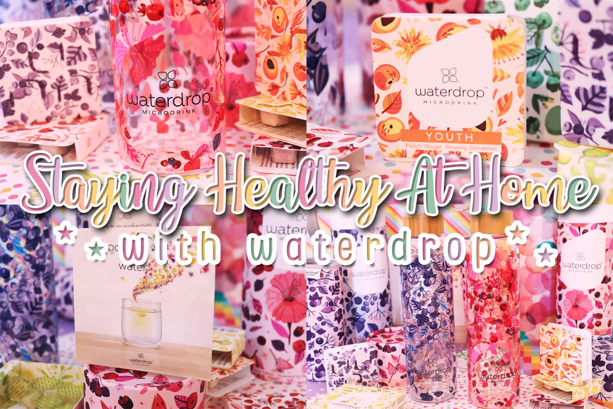 Staying Healthy At Home with waterdrop