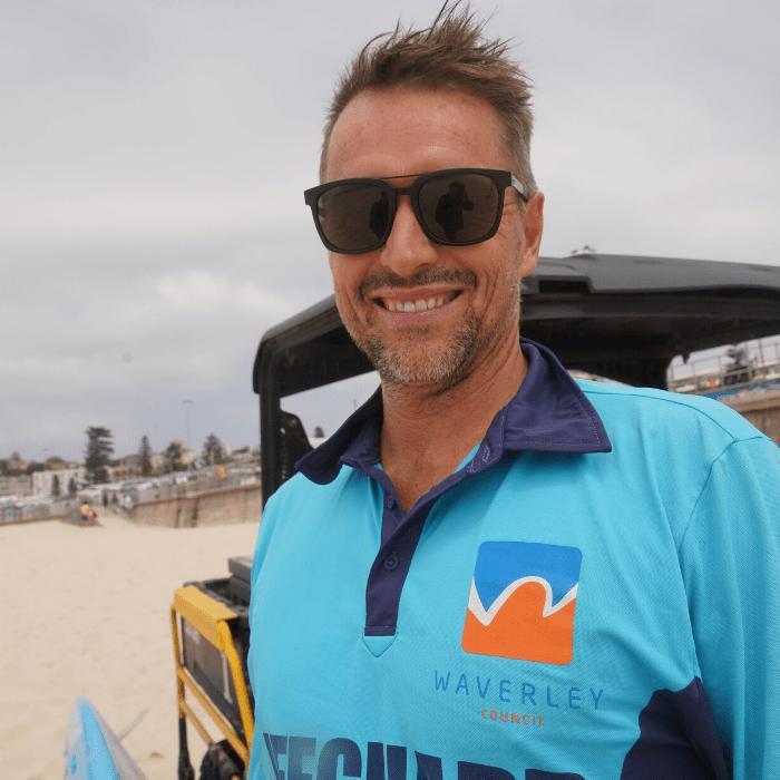 Gavin Bondi Lifeguard