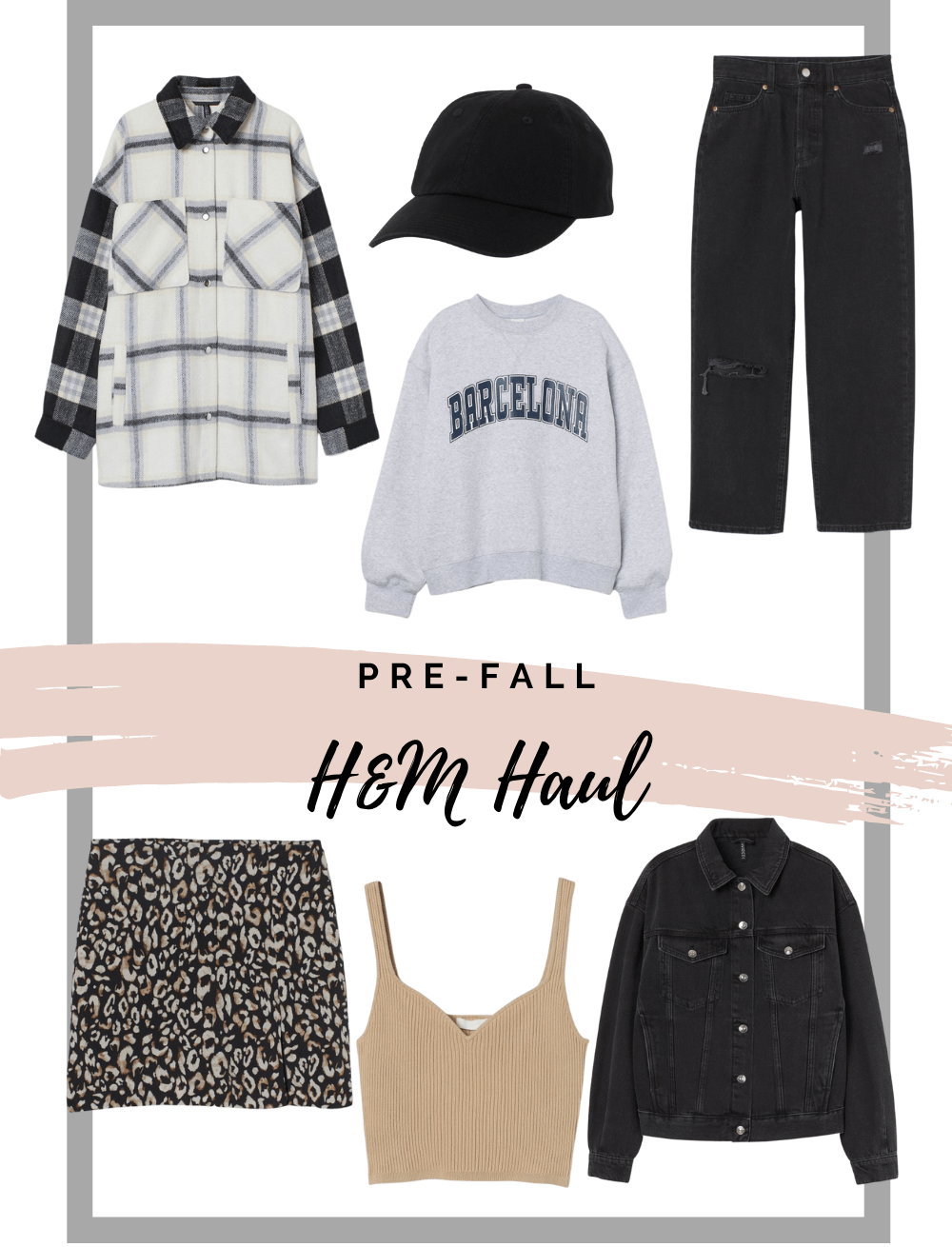 There have been so many cute fall looks on social media lately and I decided to get on board and buy some cold-weather outfits. I hope you enjoy this little pre-fall H&M haul!