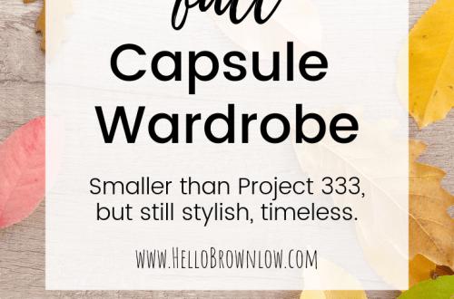 Minimalist Fall Capsule Wardrobe #fallcapsulewardrobe #smallwardrobe #minimaliststyle