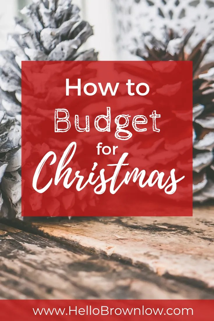 How to Budget for Christmas