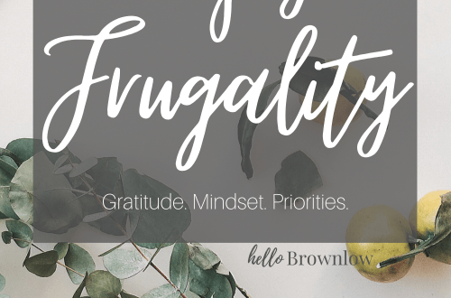 How to Enjoy Frugality