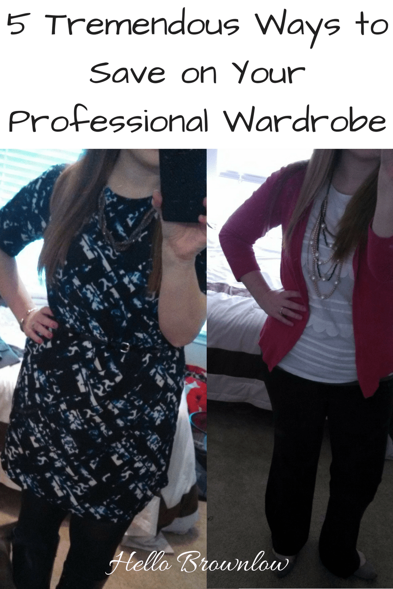 5 Tremendous Ways to Save on Your Professional Wardrobe