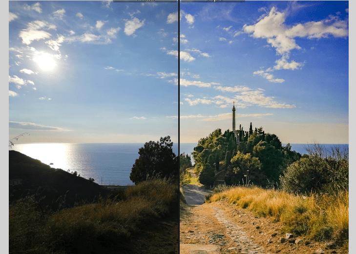 Elaborare una foto dal cellulare con lightroom