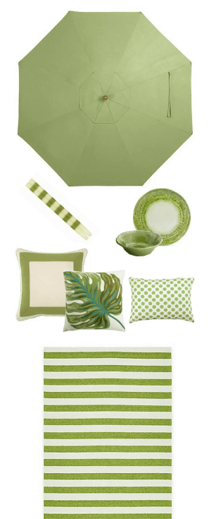 Kiwi Green Outdoor Color Strategy