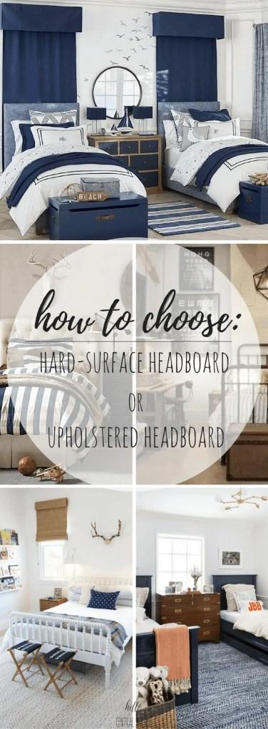 How to Choose: Hard-Surface Headboard or Upholstered Headboard