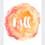 Fall Watercolor Form with Frame copy