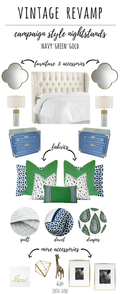 VINTAGE REVAMP: Campaign Style Nightstands