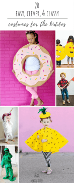 20 Easy, Clever, & Classy DIY Costumes for the Kiddos