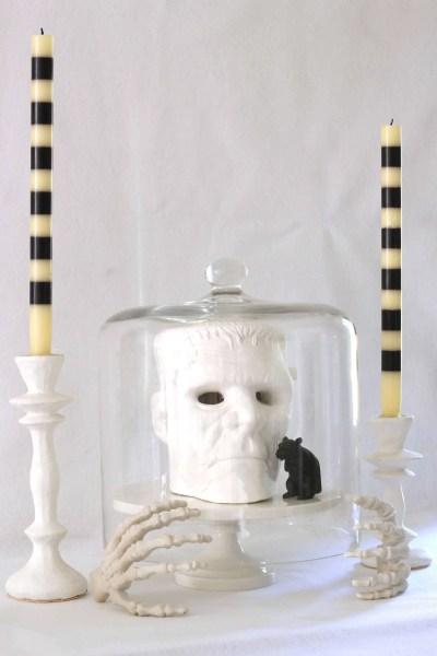 Cheap Halloween Decorations-Frankenstein head