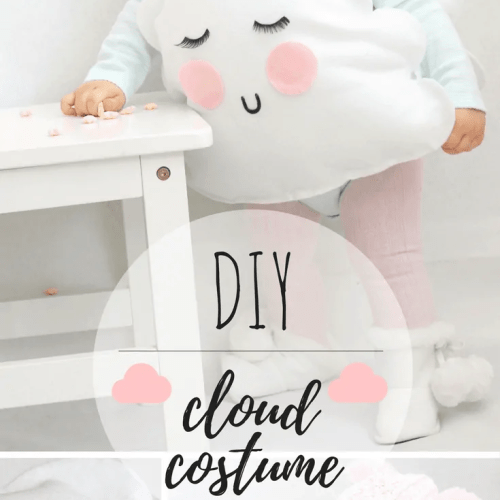 DIY-No Sew Cloud Costume