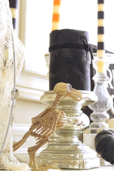 Cheap Halloween Decorations-skeleton bird