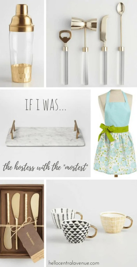 """If I was the Hostess with the """"Mostest"""""""
