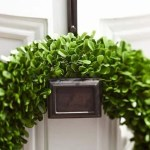 How to hang a wreath without making a hole in your door, metal doors, glass doors, and wooden doors