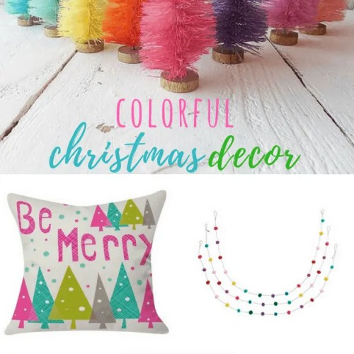 Colorful Christmas Decor