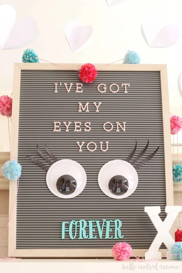 Valentine S Day Letterboard Hello Central Avenue