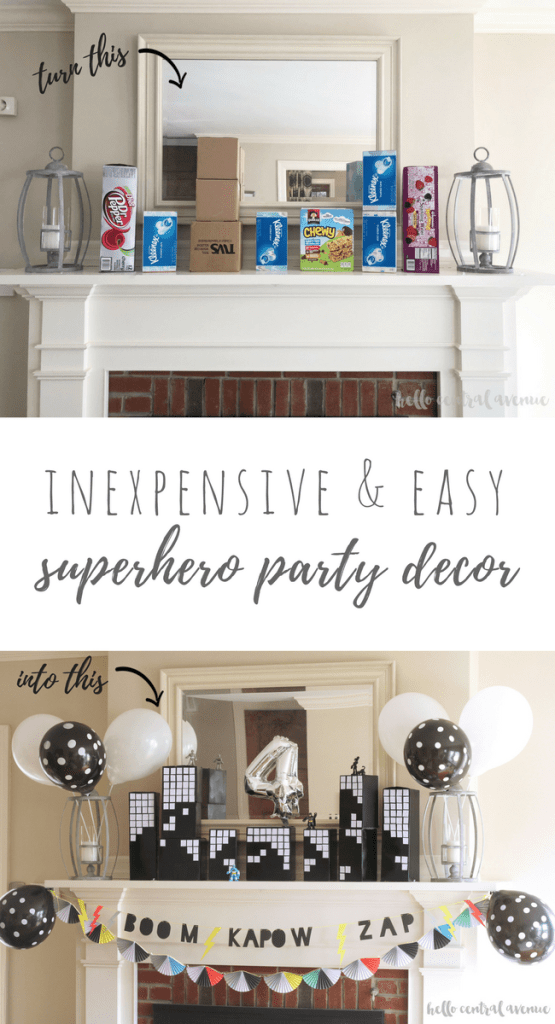 Superhero Party Mantle